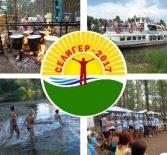 Летний оздоровительный лагерь на озере Селигер